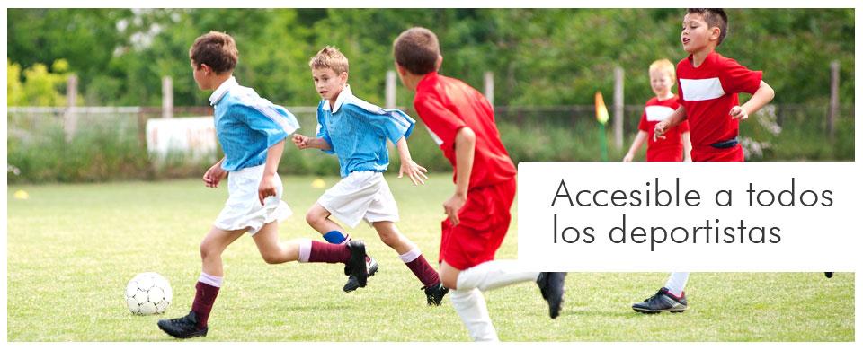 Accesible a todos los deportistas
